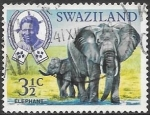 Sellos de Africa - Swazilandia -  FAUNA