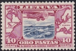 Stamps Lithuania -  avión