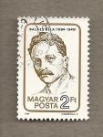 Stamps Hungary -  Bela Balazs, escritor