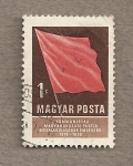Sellos de Europa - Hungría -  40 Aniv de fundación partido comunista y periodico