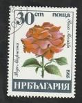 Sellos del Mundo : Europa : Bulgaria :  2932 - Rosa