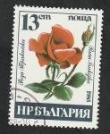 Sellos de Europa - Bulgaria -  2930 - Rosa