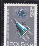 Stamps Poland -  SATÉLITE