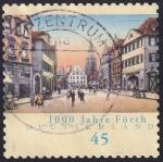 Stamps Germany -  1000 años Fürth