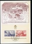 Stamps Europe - Liechtenstein -  Tarjeta Oficial