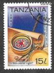 Sellos de Africa - Tanzania -  987 - 500 Aniversario del Descubrimiento de América