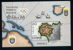 Sellos de Europa - España -  EXFILNA88