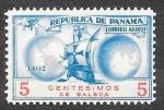 Sellos de America - Panamá -  (C) Homenaje a Cristóbal Colón