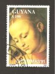 Sellos de America - Guyana -  RESERVADO DAVID MERINO