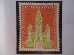 Stamps Venezuela -  Panteón Nacional - Serie: Panteón Nacional de Caracas.