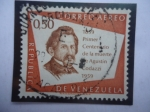 Stamps Venezuela -  Agustín Codazzi (1793-1859)-Primer Centenario de la Muerte de Agustín Codazzi (1859-1959)