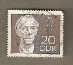 Stamps Germany -  Otto Nagel