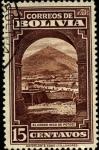 Sellos de America - Bolivia -  Industria Minera. Cerro Rico de Potosí.