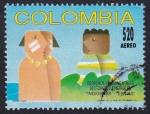 Stamps : America : Colombia :  derechos fundamentales
