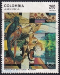 Stamps : America : Colombia :  América Magia
