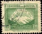Stamps Bolivia -  Revolución Popular del 21 de julio de 1946. LA PAZ cuna de la libertad y tumba de tiranos.