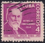 Sellos del Mundo : America : Cuba : Gral. Emilio Nuñez