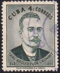Sellos del Mundo : America : Cuba : Gral. Adolfo Flor Crombet