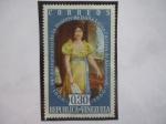 Sellos de America - Venezuela -  94°Aniv. de la Muerte de Doña Luisa Cáceres de Arismendi (1866-1960)