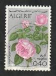 Stamps : Africa : Algeria :  569 - Flores, Rosas