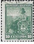 Sellos de America - Argentina -  129 - Libertad