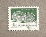 Sellos de Europa - Rumania -  Arte popular