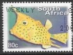 Sellos del Mundo : Africa : Sud�frica :  peces