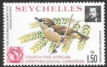 Stamps : Africa : Seychelles :  aves