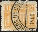 Stamps America - Colombia -  Sobre Tasa. Palacio de Comunicaciones.
