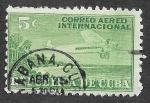 Stamps Cuba -  C4 - Avión