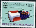 Stamps Madagascar -  Innsbruck '76