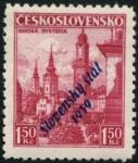 Stamps Czechoslovakia -  Bistryca