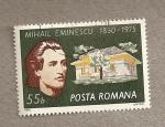 Sellos de Europa - Rumania -  Mihail Eminescu, Poeta