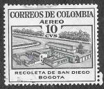 Sellos de America - Colombia -  C240 - Recoleta de San Diego