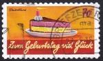 Stamps : Europe : Germany :  Feliz Cumpleaños