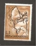 Sellos de Europa - San Marino -  RESERVADO MANUEL BRIONES
