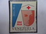 Sellos de America - Venezuela -  Cruz Roja - Enfermera de la Cruz Roja  - Serie: Surfax para Venezuela Cruz Roja.