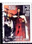 Sellos del Mundo : America : Perú : IV Centenario de Santa Teresa de Jesús