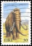 Sellos del Mundo : Europa : Irlanda :  Fauna prehist�rica