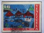 Sellos de America - Venezuela -  Festival del Niño - Pueblo Cerca a Caracas - Serie: Día del Niño