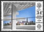 Sellos del Mundo : Europa : Reino_Unido :  arquitectura
