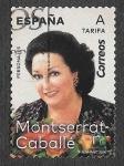Stamps : Europe : Spain :  Edif 5320 - Montserrat Caballé