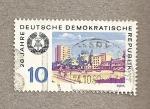 Sellos de Europa - Alemania -  20 años de la DDR