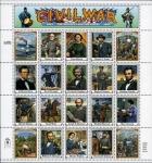 Sellos del Mundo : America : Estados_Unidos : Guerra civil