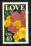 Sellos del Mundo : America : Estados_Unidos : Problema de amor
