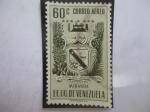 Sellos de America - Venezuela -  EEUU. de Venezuela-Estado Miranda - Escudos de Armas.