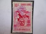Sellos de America - Venezuela -  EEUU. de Venezuela - Estado Aragua - Escudo de Armas.