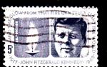 Sellos del Mundo : America : Estados_Unidos : John Fitzgerald Kennedy