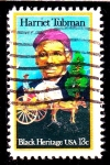 Stamps United States -  Harriet Tubman