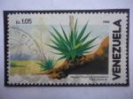 Stamps Venezuela -  Maguey (Fourcroya humboldtiana) - Serie: Flora y fauna 982